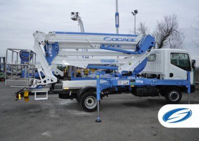camion nacelle Socage ForSte 24DJ
