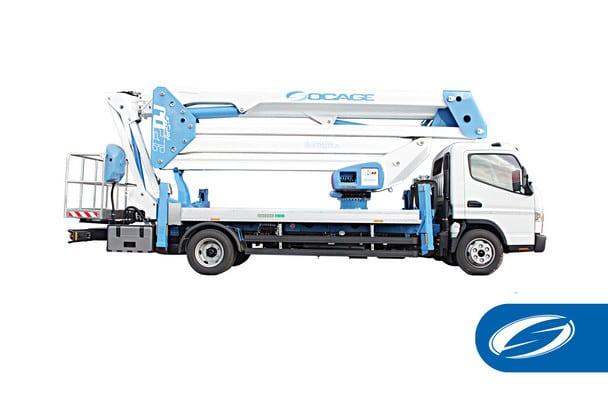 camion grue concession ForSte 32DJ Socage