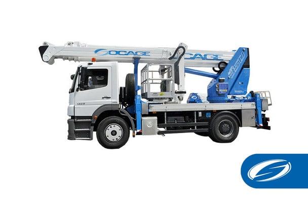 camions avec flèche articulée nacelle nacelle PourSte 35TJ Socage 1