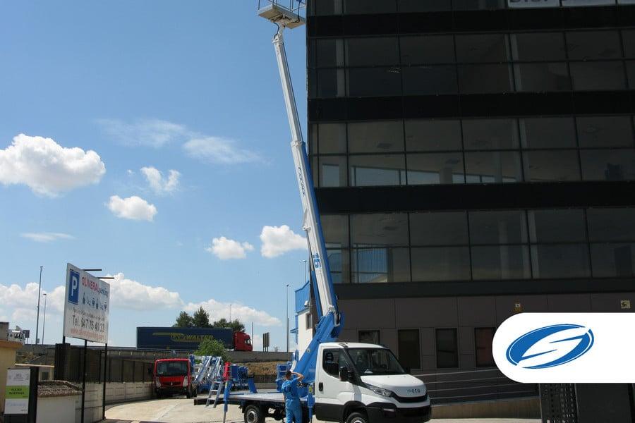 camion nacelle Socage ForSte 16T