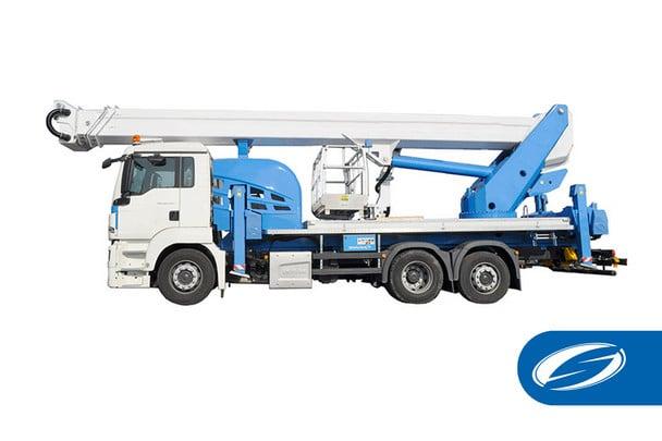 plates formes élévatrices pour camions ForSte 44TJ Socage