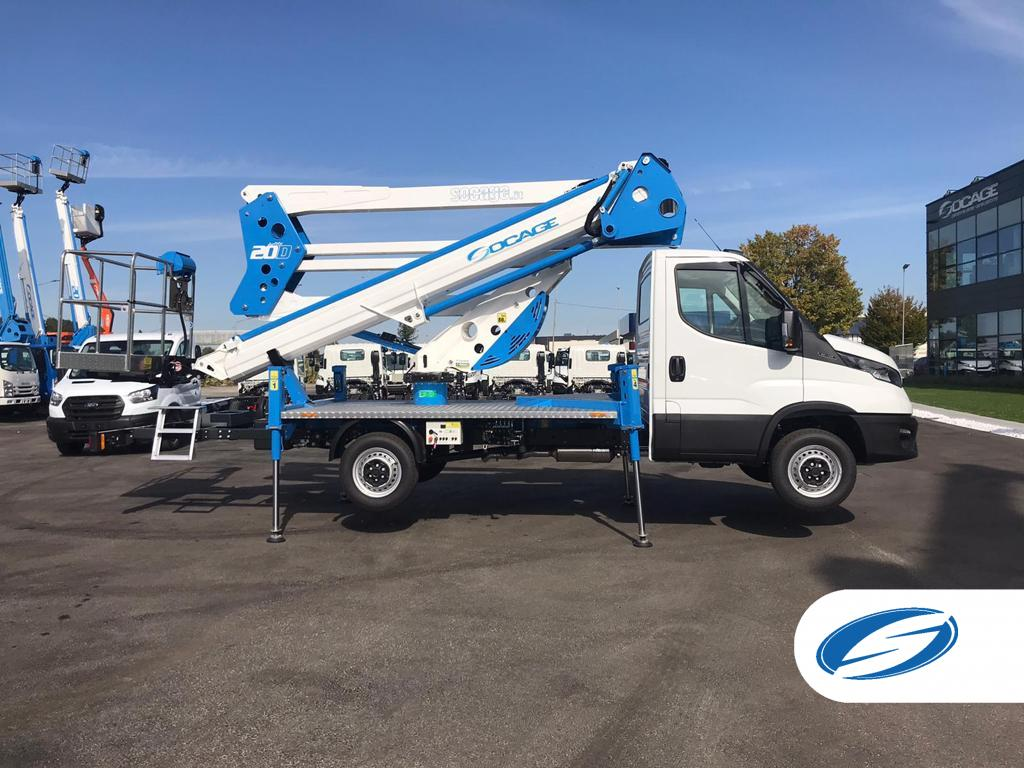 20D speed camion nacelle