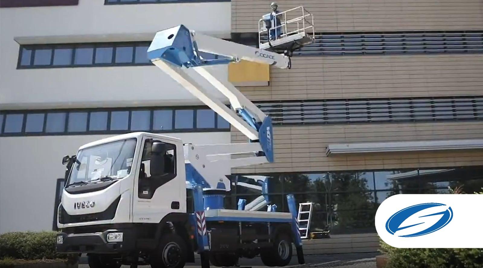 ForSte 28DA speed camion avec nacelle