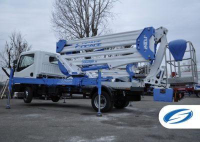 Socage ForSte 24DJ camion nacelle