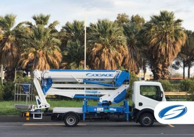 ForSte 24DJ Socage camion nacelle