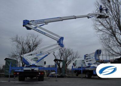 camion nacelle ForSte 24DJ stabilisation automatique