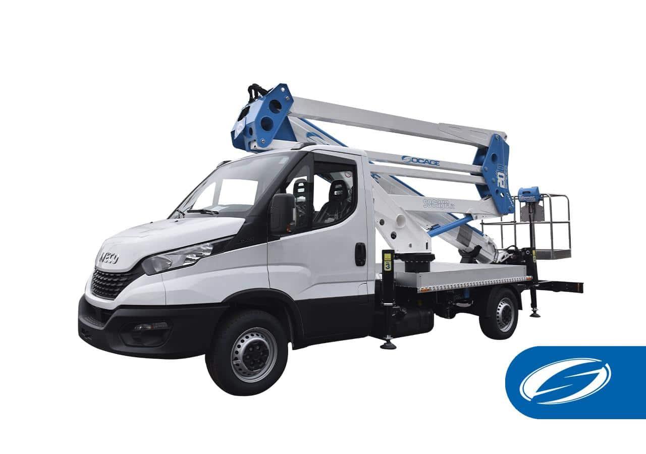 camion nacelle ForSte 20D Socage