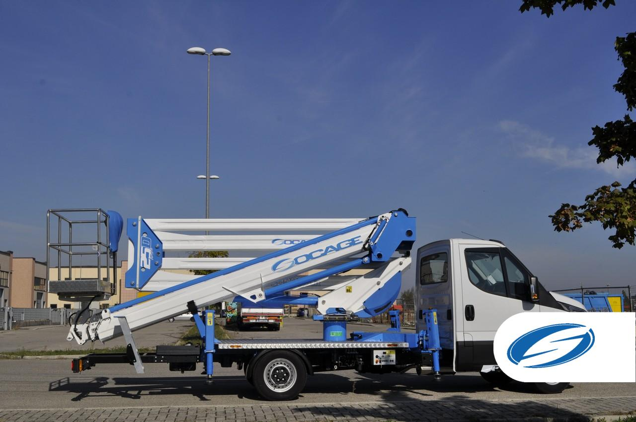 Camion nacelle forSte 25D SPEED Iveco