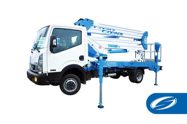 Camion nacelle ForSte 24DJ SPEED Socage