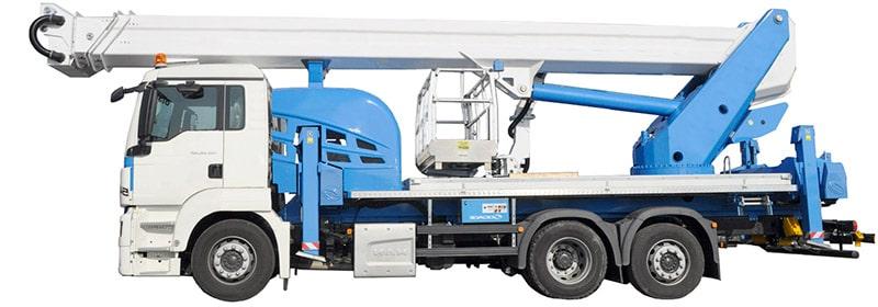 Camion nacelle ForSte 54TJJ