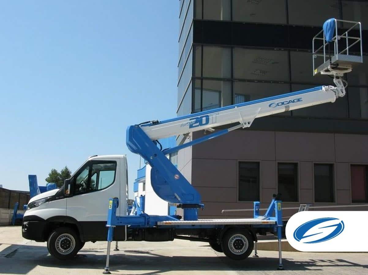 ForSte 20T camion nacelle