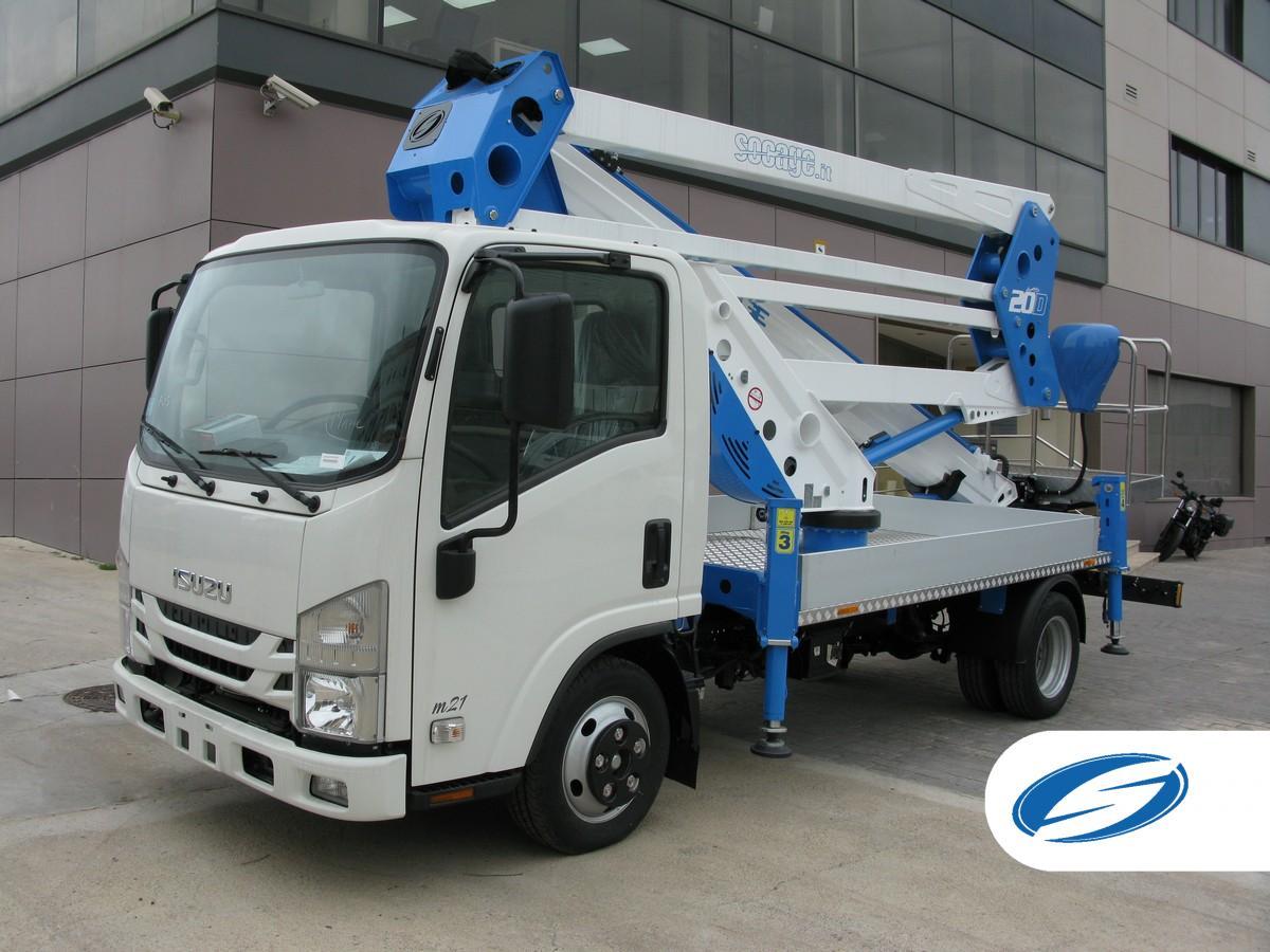 camion nacelle SOCAGE ForSte 20D