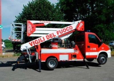 plataforma aérea Socage DA324 antincendio