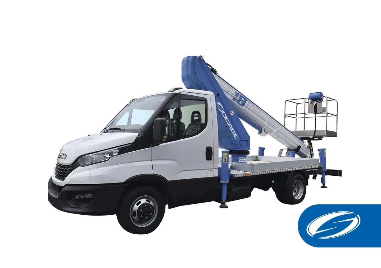 camions avec panier élévateur ForSte 18T Socage