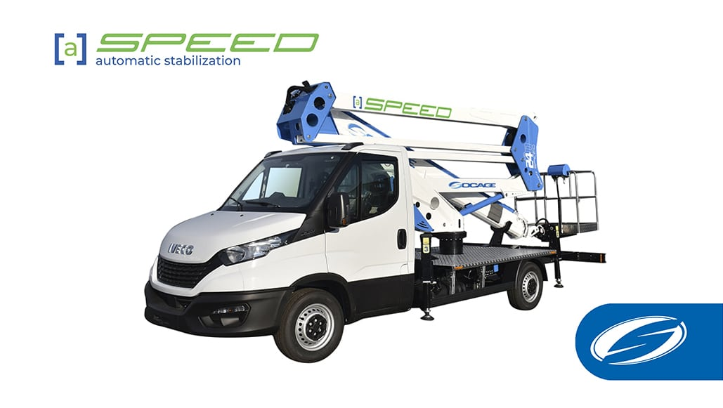 Nouvelle gamme de plateformes avec stabilisation automatique speed